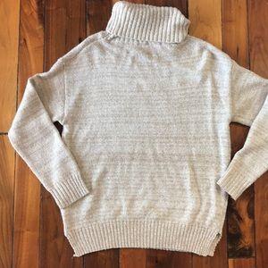 Sweaters - Cream Comfty Knit Turtleneck Sweater